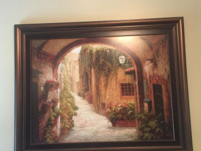 Italy framed picture