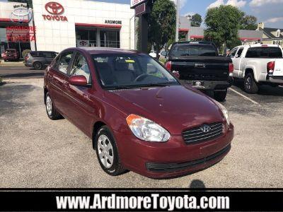 2010 Hyundai Accent GLS (Wine Red)