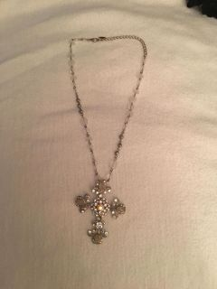 Jeweled Necklace and jeweled chain NEW