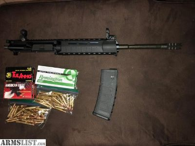 For Sale/Trade: AR-15 upper + ammo