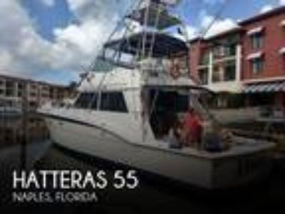 Hatteras - 55 Flybridge Convertible