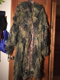 Hooded Ghillie Suit *PONCHO ONLY*