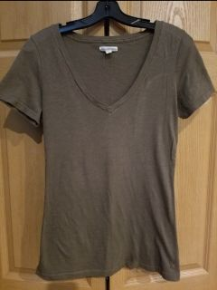 American Eagle brown top size Juniors L