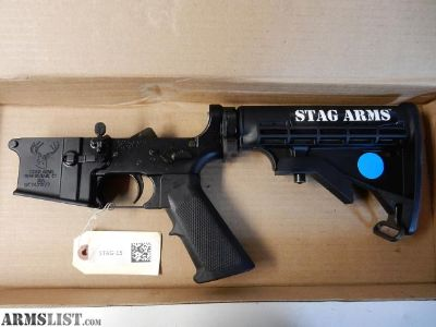 For Sale: NIB Stag Arms Tactical AR-15 Lower w/ Options