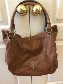 Brown Guess purse and matching wallet