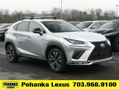2019 Lexus NX (silver)