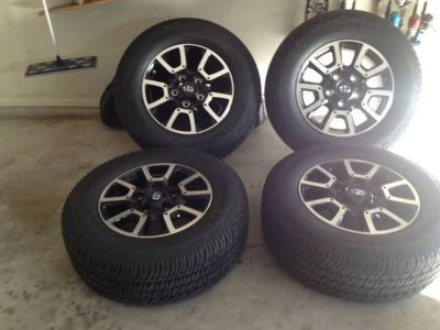 Brand new set of tires and wheels