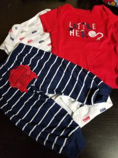 3 Piece Little Hero Outfit