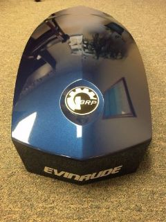 Find NEW ORBIT BLUE EVINRUDE 200-300HP GEN 2 TOP MOTOR COWLING 0285888 motorcycle in Augusta, Georgia, United States, for US $195.95