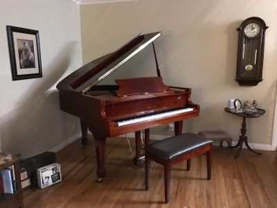 Schafer and Sons baby grand piano