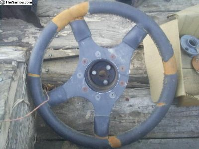 Grant wheel with adapter