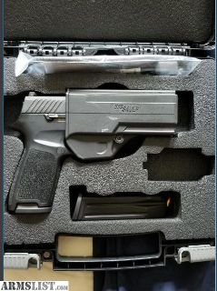 For Sale: Like New - Sig Sauer P320CA - 9 - BSS