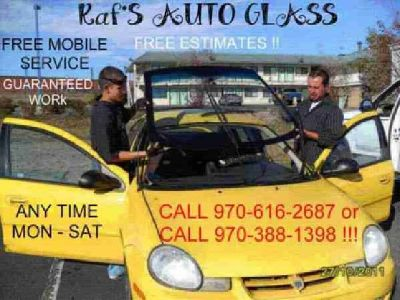 $125 Autoglass Replace and Install