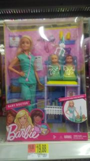 Looking for barbie. Baby doctor