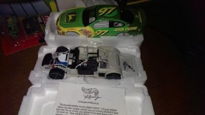 $20 NASCAR 2000 John Deere #97 diecast replica by HotWheels