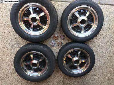 Sprint star alloys with tires, NEW