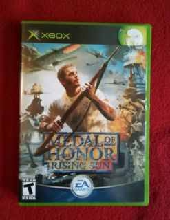 Medal of Honor Rising Sun Xbox game