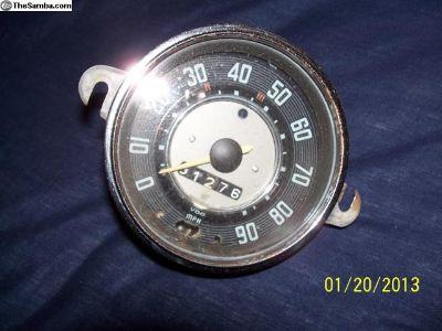 vw bug speedometer 6/64-111/957/023E