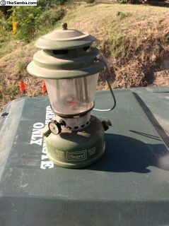 Sears lantern great for your camper 4/72 Coleman