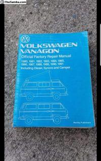 Vanagon Bentley Service Manual