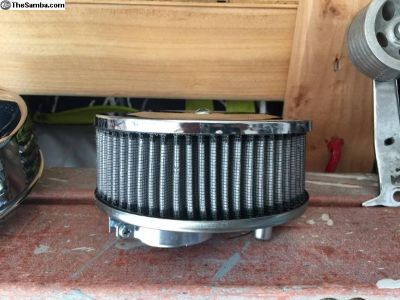 1 new and 1 used air cleaners