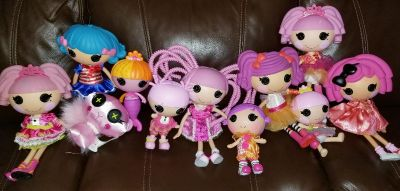 Lalaloopsy dolls different sizes