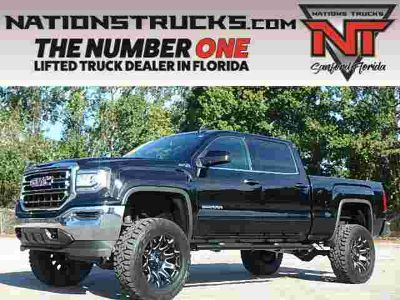 2018 GMC Sierra 1500 SLE Leather Z71 Crew Cab 4x4