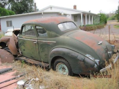 Find 1939 BUICK COUPE 2 DOOR PARTS CAR RESTORE RATROD HOTROD CHEVY FORD SOLID BODY motorcycle in Yakima, Washington, US, for US $1,995.00