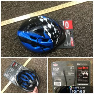 Brand NEW with tags, bike helmet, size youth 5 years and up. $5.00