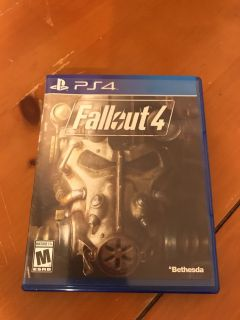 Like new, Fallout 4 ps4 OBO