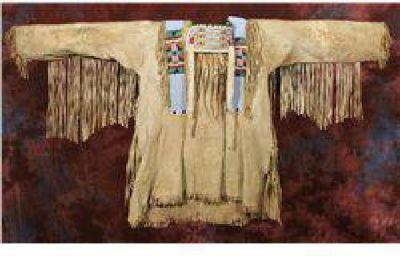 $30,000 Crow Beaded Warshirt