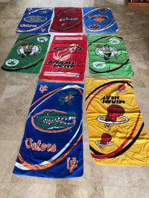 Towels Sports teams Pool/boat/camp