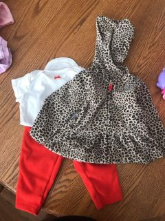 VGUC carters outfit 6m