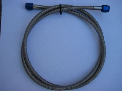 "Purchase NOS/NITROUS/NX/ZEX/HOLLEY/ BIG-PRO SHOT-CHEATER 4AN-4AN-48"" BLUE LINE/HOSE KIT! motorcycle in North Attleboro, Massachusetts, United States, for US $19.99"