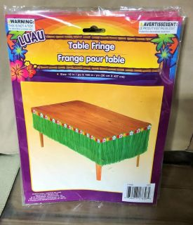 Luau Table (3) & Door Fringe (1)