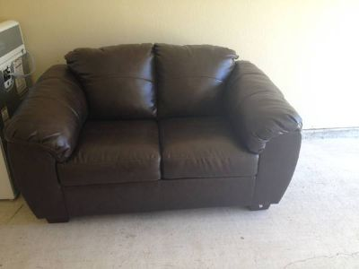 Ashley Furniture Durablend Coffee Loveseat