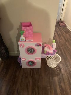 American girl washer dryer set