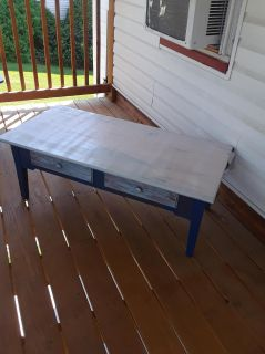 Coffee Table Upcycled With Two Drawers