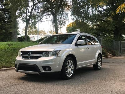 2011 Dodge Journey Crew (Bright Silver Metallic)