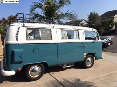 1969 VW Bus Sundial Camper for sale.