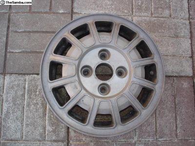 """13"""" Aluminum Wheel"""