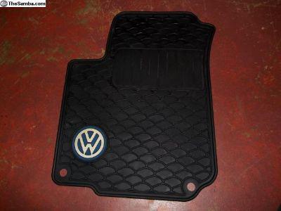 VW Beetle floor mat