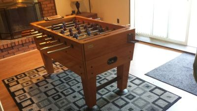 Harvard Midfielder Foosball table