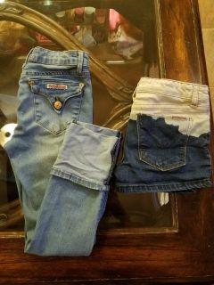 Girls Hudson jeans & shorts