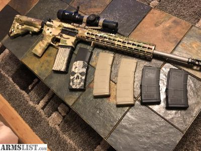 For Sale/Trade: Aero Precision Limited Edition Multicam AR15 w/ 6 Pmags and Ammo