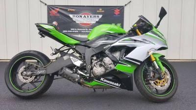 2015 Kawasaki Ninja ZX -6R ABS 30th Anniversary SuperSport Motorcycles Greenville, NC