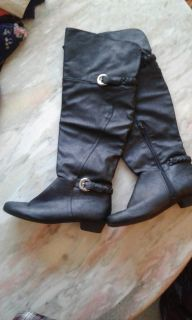 Womens wide over the knee boots size 10
