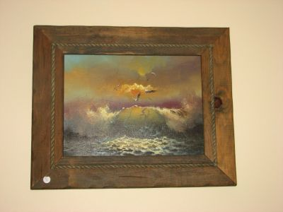 2 Seascapes Oil Paintings