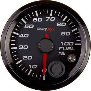 "Sell Holley 553-129 EFI Fuel Pressure Gauge 2-1/16"" 0-100PSI 270° Sweep motorcycle in Delaware, Ohio, United States, for US $119.95"