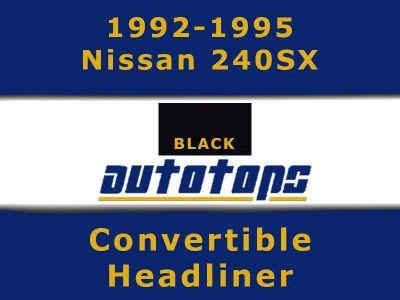 Find 1992-1995 Nissan 240sx Convertible top HEADLINER HEAD LINER motorcycle in Shamokin, Pennsylvania, US, for US $167.00